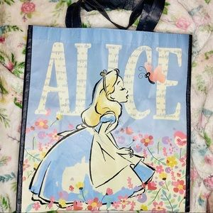 Alice in wonderland reusable bag